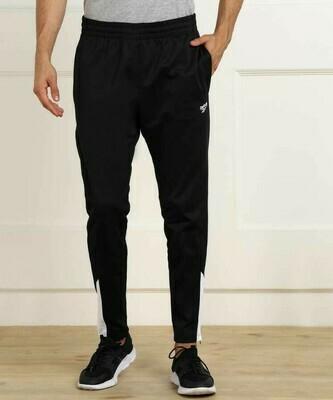 REEBOK Solid Men Black Track Pants