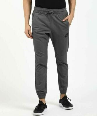 Nike Solid Men Grey Track Pants