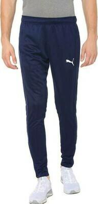 Puma Solid Men Blue Track Pants
