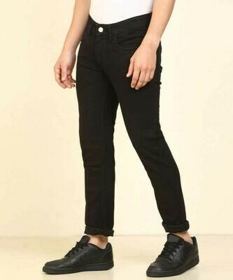 Levis Men Black Clean Look Stretchable Jeans