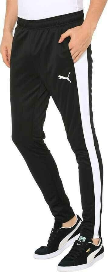 Puma Solid Men White, Black Track Pants