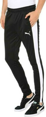 Puma Solid Men White, Black Track Pants