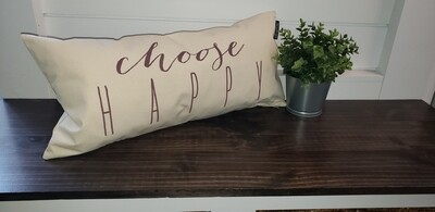 Pillow - Choose Happy