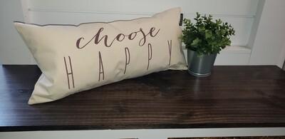 Pillow - Choose Happy