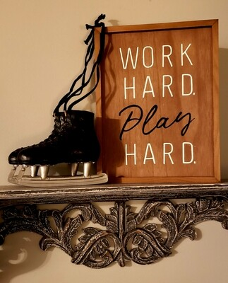 Work Hard Play Hard (Double-Sided)