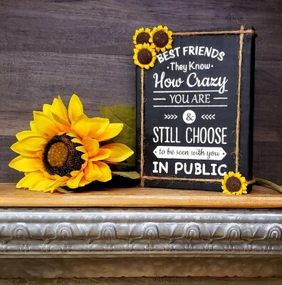 Best Friends Sunflower