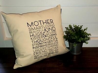 Mother Pillow (20x20)