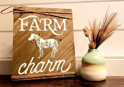 Farm Charm with Horse