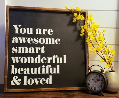 You are awesome...