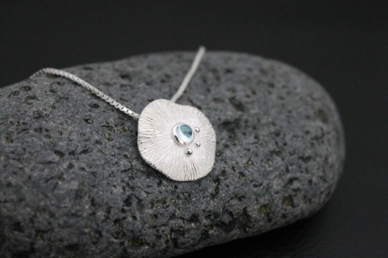 Necklace - Blue Topaz