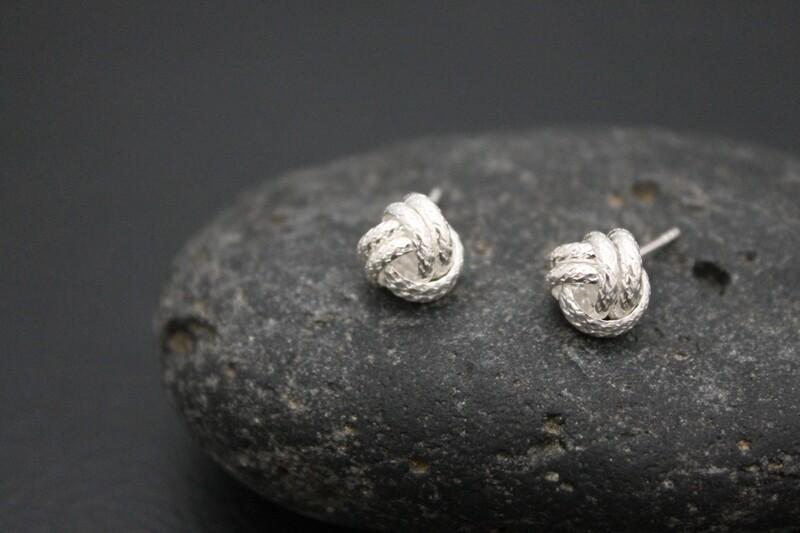 Simply Silver Stud Earrings