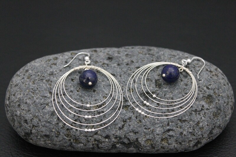 Earrings - Lapis Lazuli