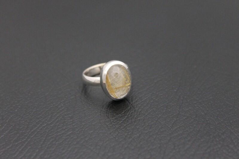 Ring - Rutilated Quartz