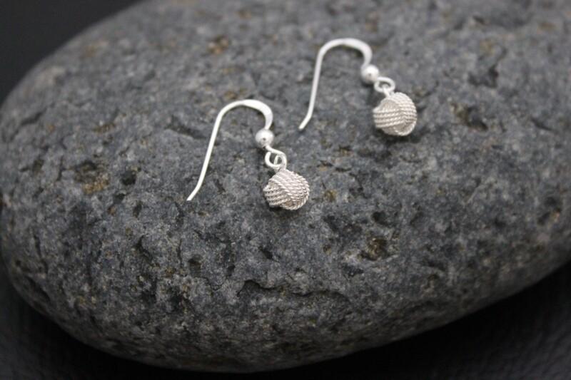 Simply Silver Drop Earrings