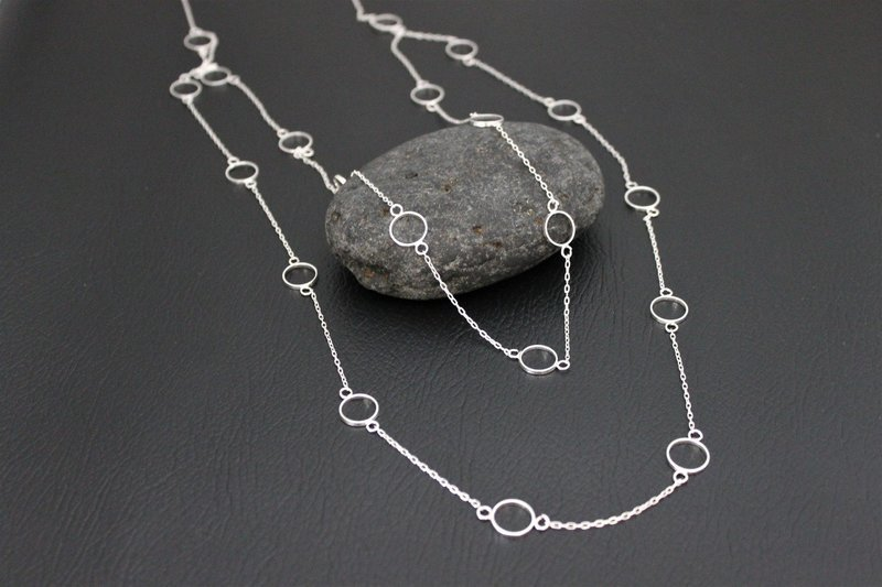 Necklace - Simply Silver