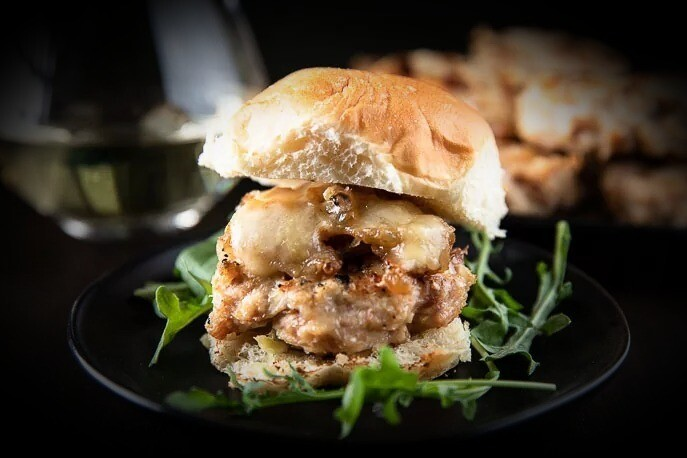 Gourmet Jerk Chicken Burger  with Chips - Two for £20