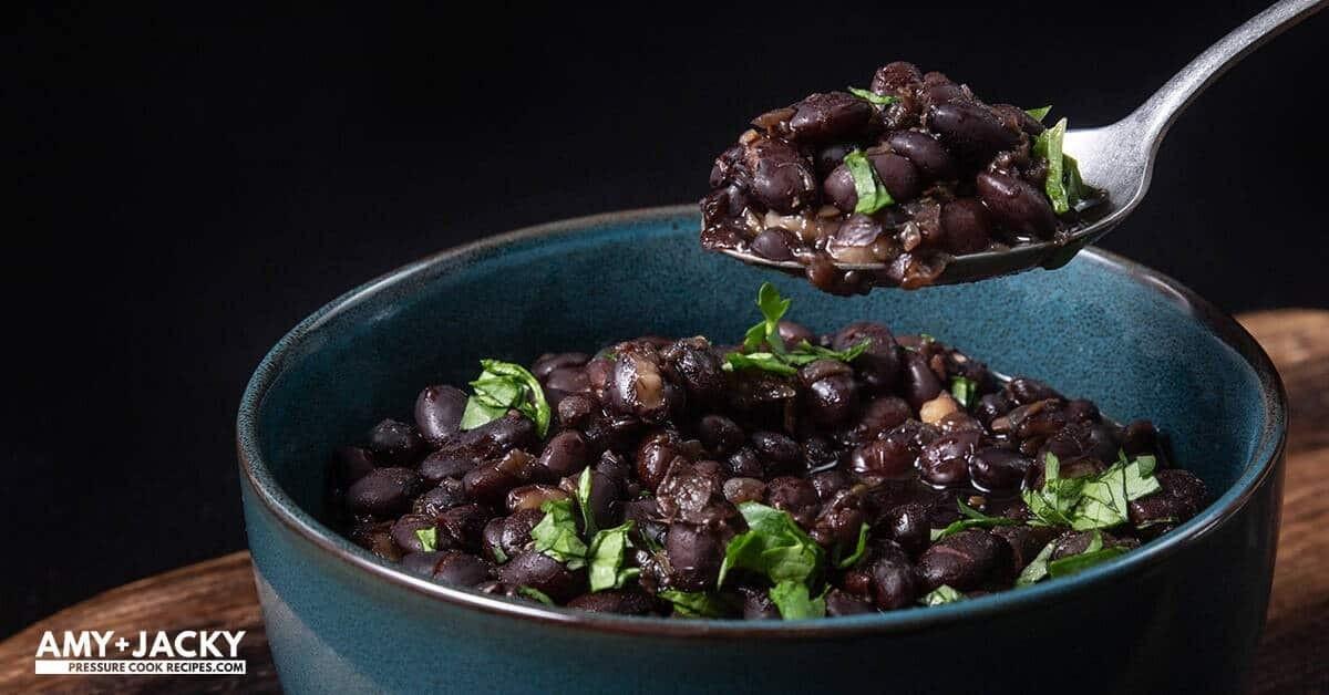 Cuban Black Beans (side)
