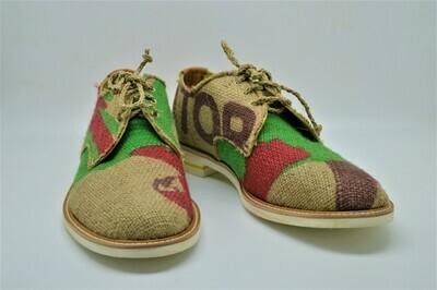 Brasile - scarpa artigianale in juta