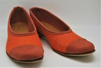 DECOLTE'-scarpa artigianale donna in juta