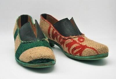 FRANCESINA-scarpa artigianale donna in Juta