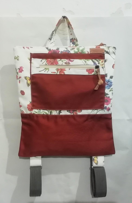 FUCSIA- Zaino artigianale in tessuto