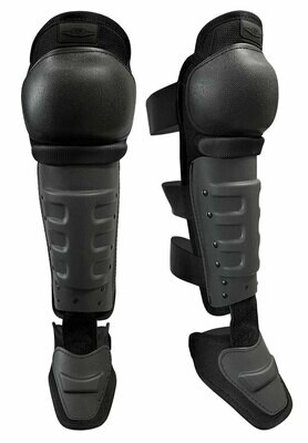 Hard Shell Knee/Shin Guards w/ Non-Slip Knee Caps