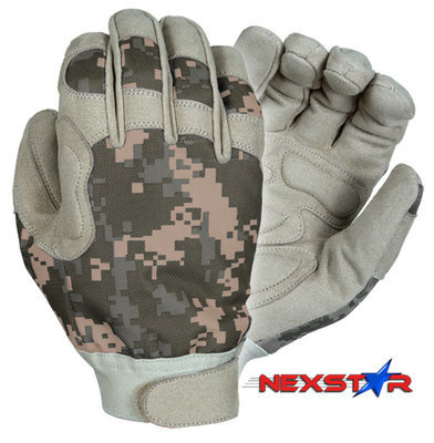 Nexstar III™ - Medium Weight duty gloves (ACU Digital Camo)