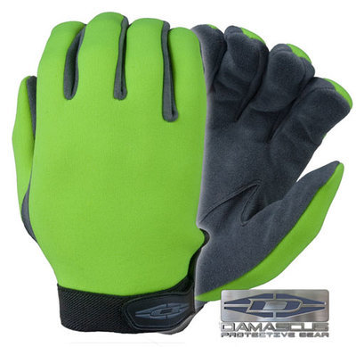 UltraVIZ™ - Unlined high visibility neoprene (Lime)