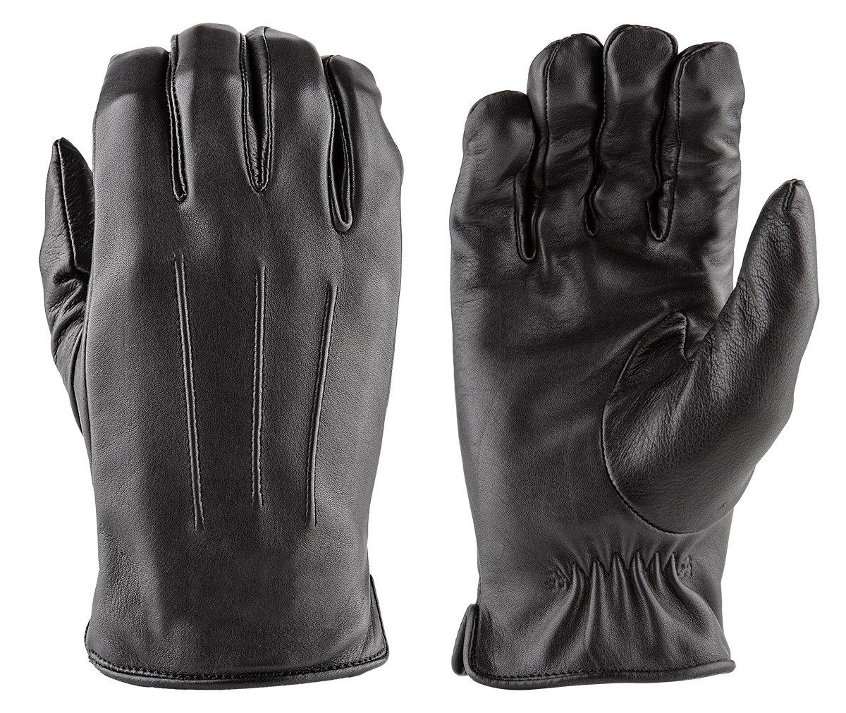 LUXE Deer Skin Leather Gloves w/ Faux Fur Lining