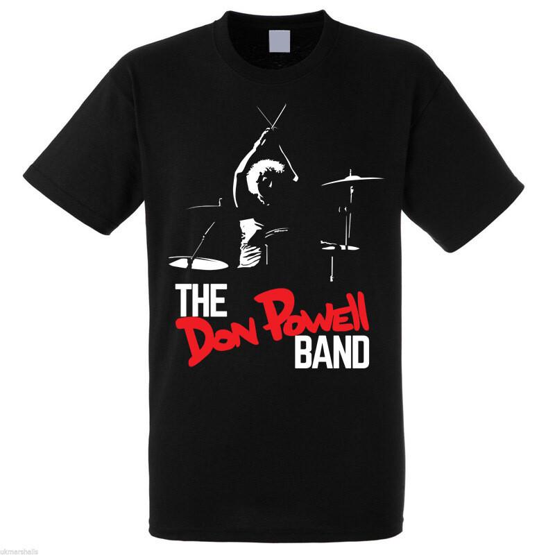 Don Powell Band T shirt MEDIUM
