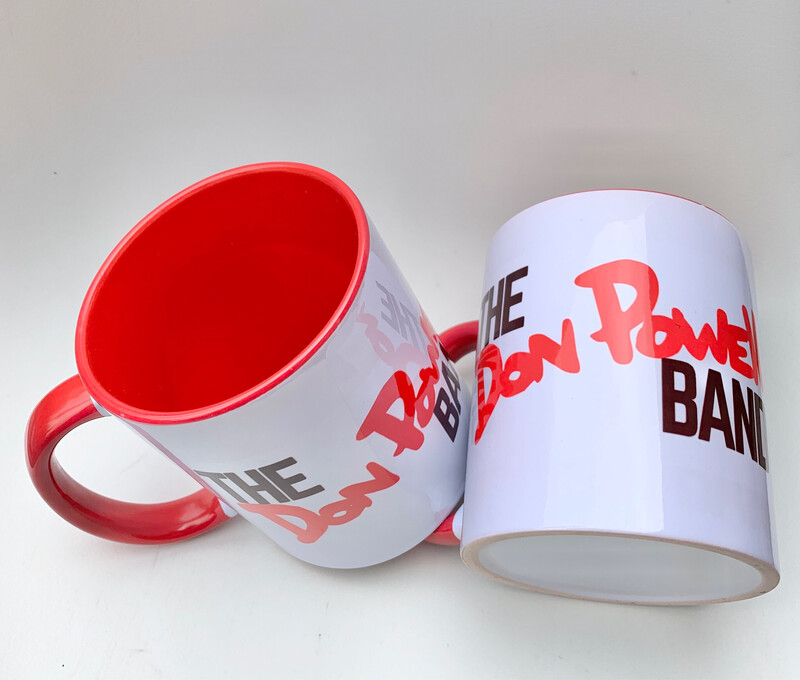 Pair of Don Powell 'Let There Be Drums' Mugs