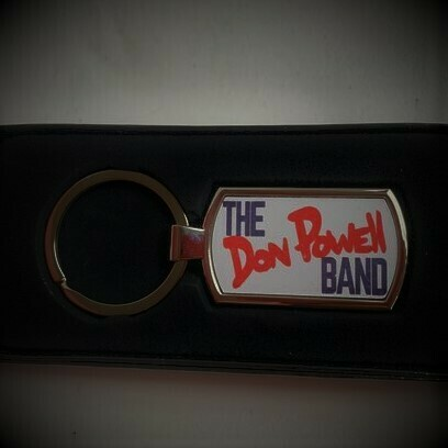 Don Powell Band Key Ring + FREE Download of Back On the Road