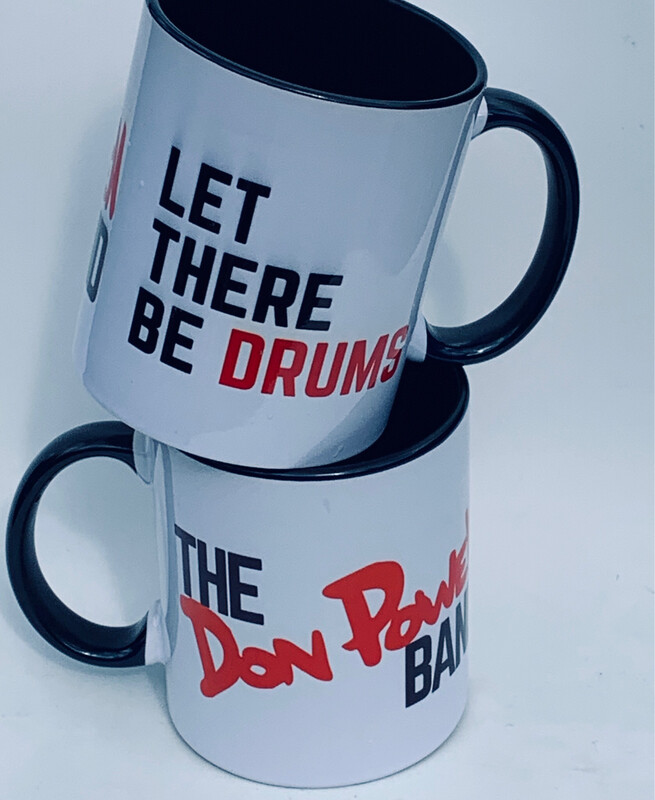 Don Powell 'Let There Be Drums' Mug
