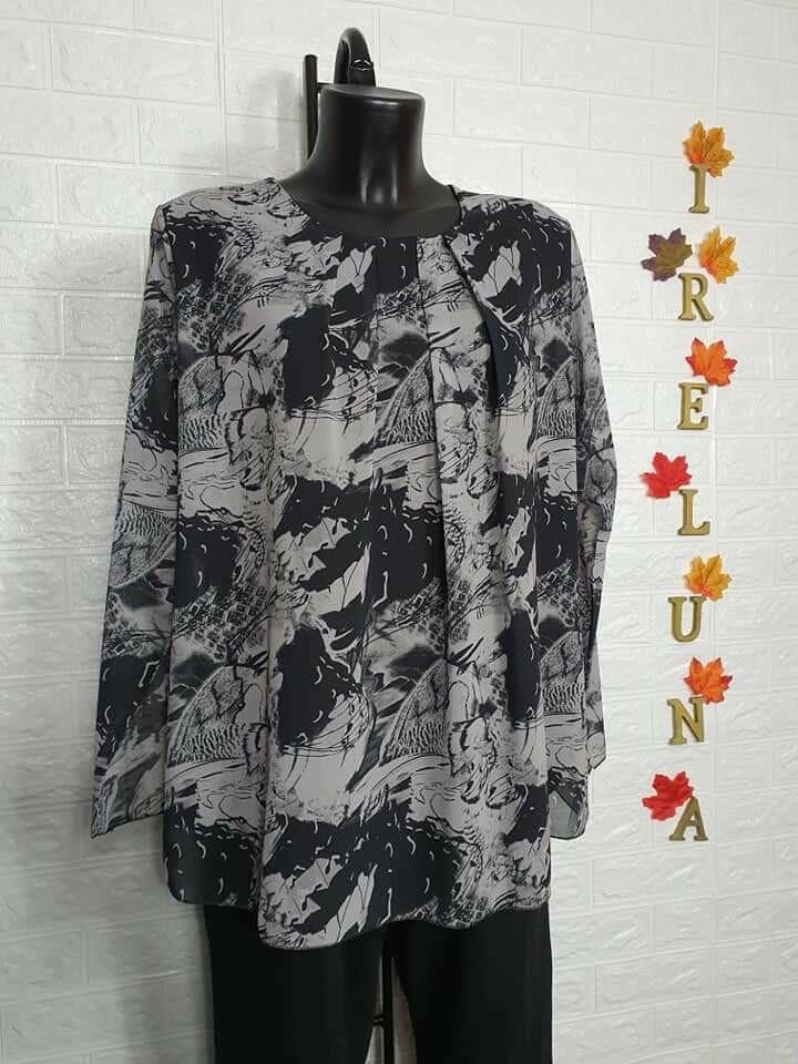 Camicia donna in voile