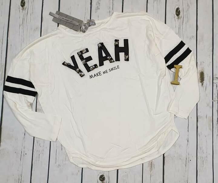 ARTIGLI maglietta bianca yeah