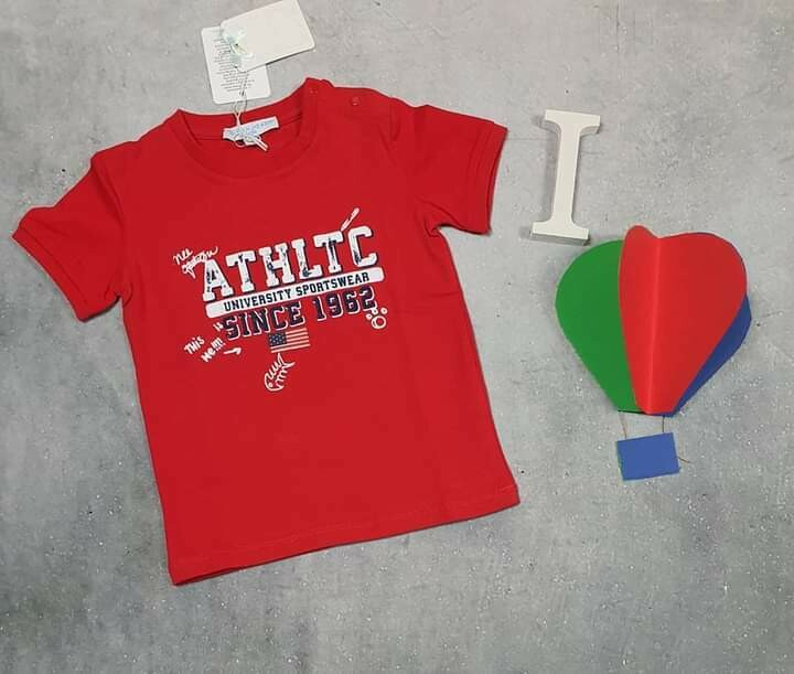 SILVIAN HEACH maglietta bimbo estiva rossa