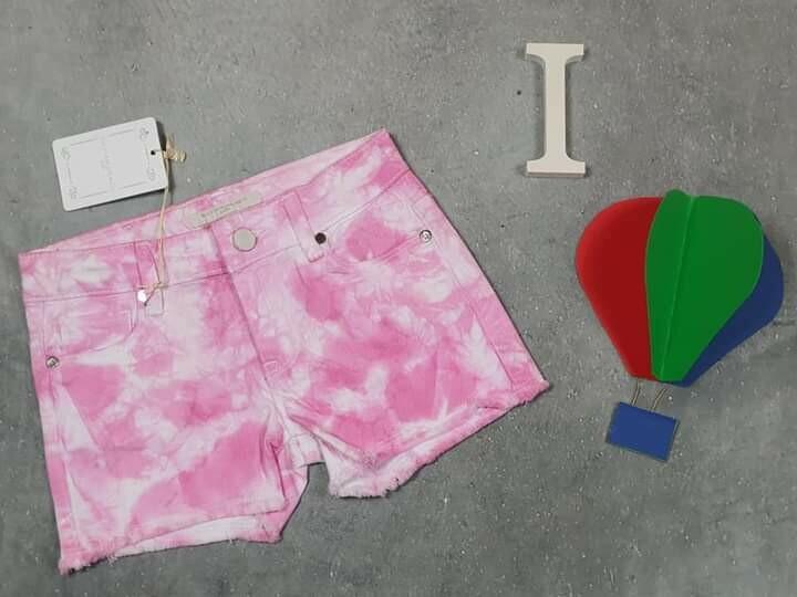 SILVIAN HEACH pantaloncino bimba estivo rosa
