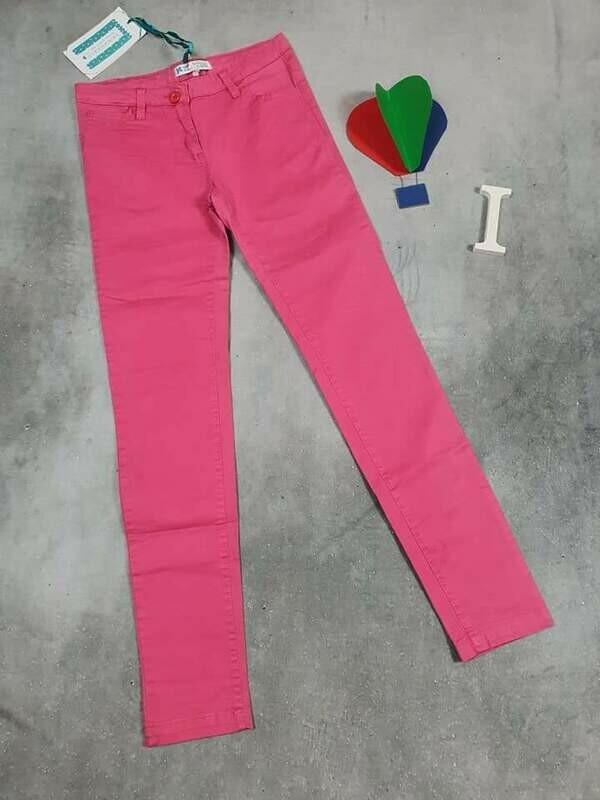SILVAN HEACH pantaloni bimba primaverili rosa intenso