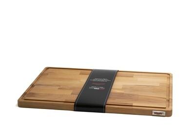 Tagliere con raccoglisugo in legno di faggio 50 cm