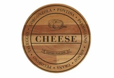 Tagliere rustico in faggio 'Cheese'