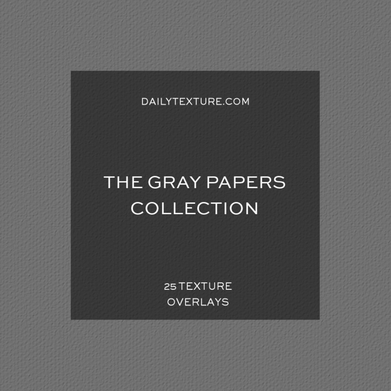 The Gray Papers Texture Overlay Collection
