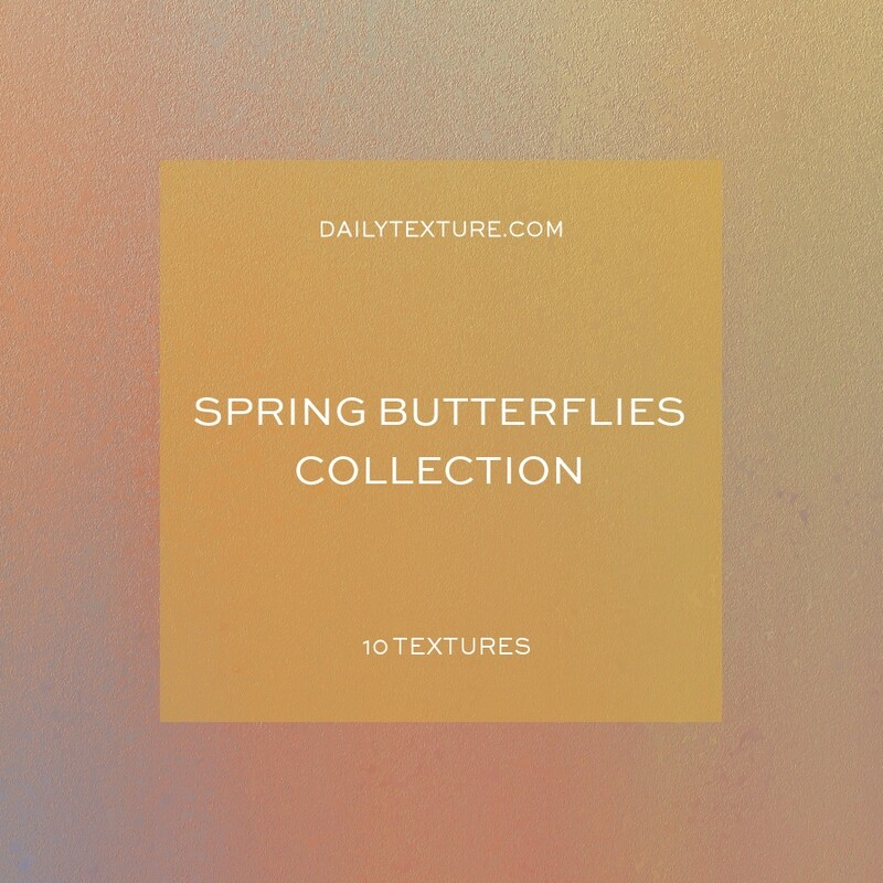 Spring Butterflies Texture Collection
