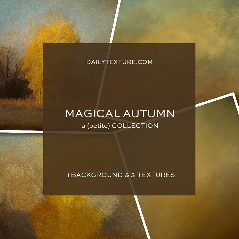 Magical Autumn A Petite Texture Collection