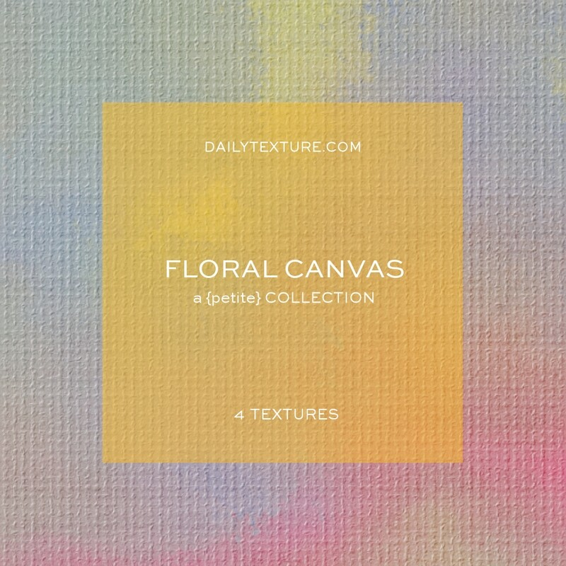 Floral Canvas A Petite Texture Collection
