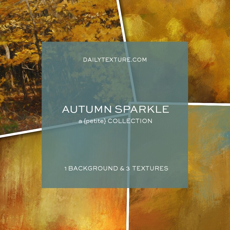 Autumn Sparkle A Petite Texture Collection