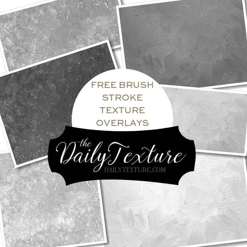 Free Brushstroke Painted Overlays