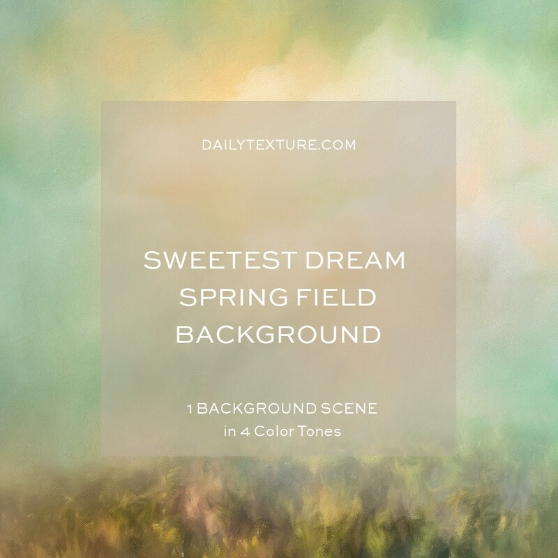 Sweetest Dream Spring Field Background Collection