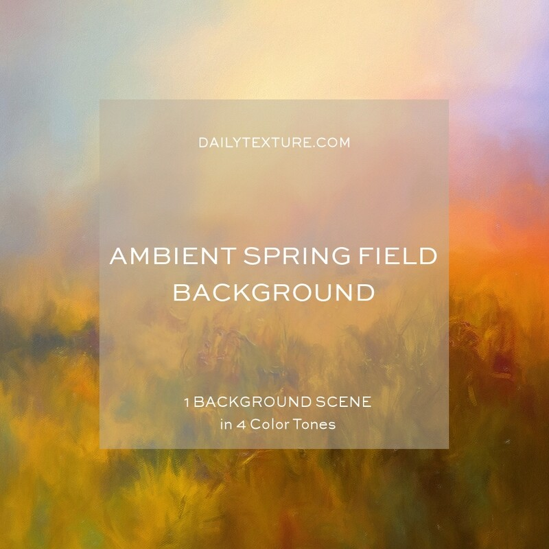 Ambient Spring Field Background Collection