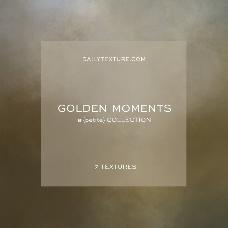 Golden Moments A Petite Texture Collection