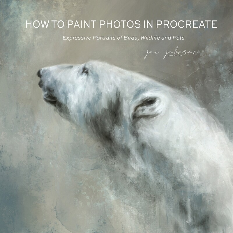 How To Paint Photos In Procreate Course